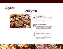 #11 para Build a Single Landing Page for Dry Creek BBQ por bisiriyuyusuff