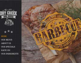 #12 para Build a Single Landing Page for Dry Creek BBQ por gspadaccini