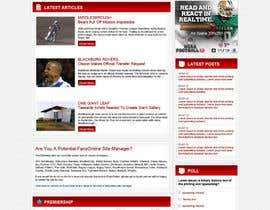 #5 cho Website Design for FansOnline.net Ltd bởi tania06