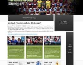 nº 28 pour Website Design for FansOnline.net Ltd par techwise