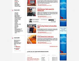 #3 untuk Website Design for FansOnline.net Ltd oleh hoticeeu
