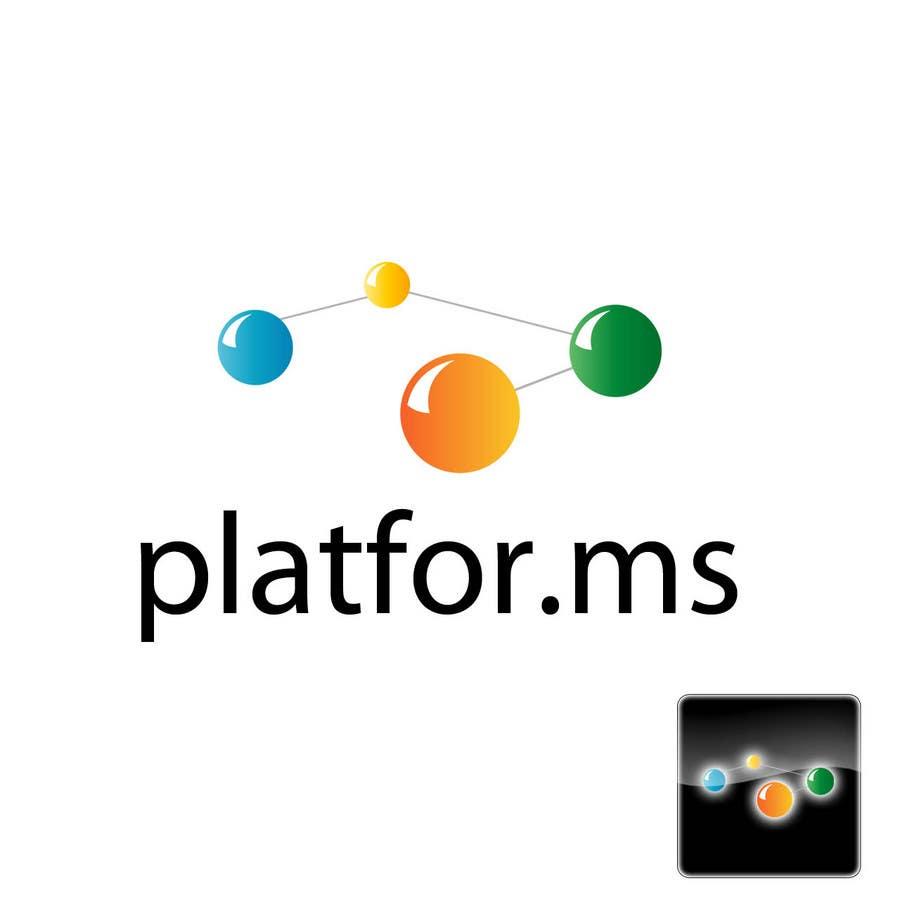 Inscrição nº 62 do Concurso para Logo Design for Platfor.ms