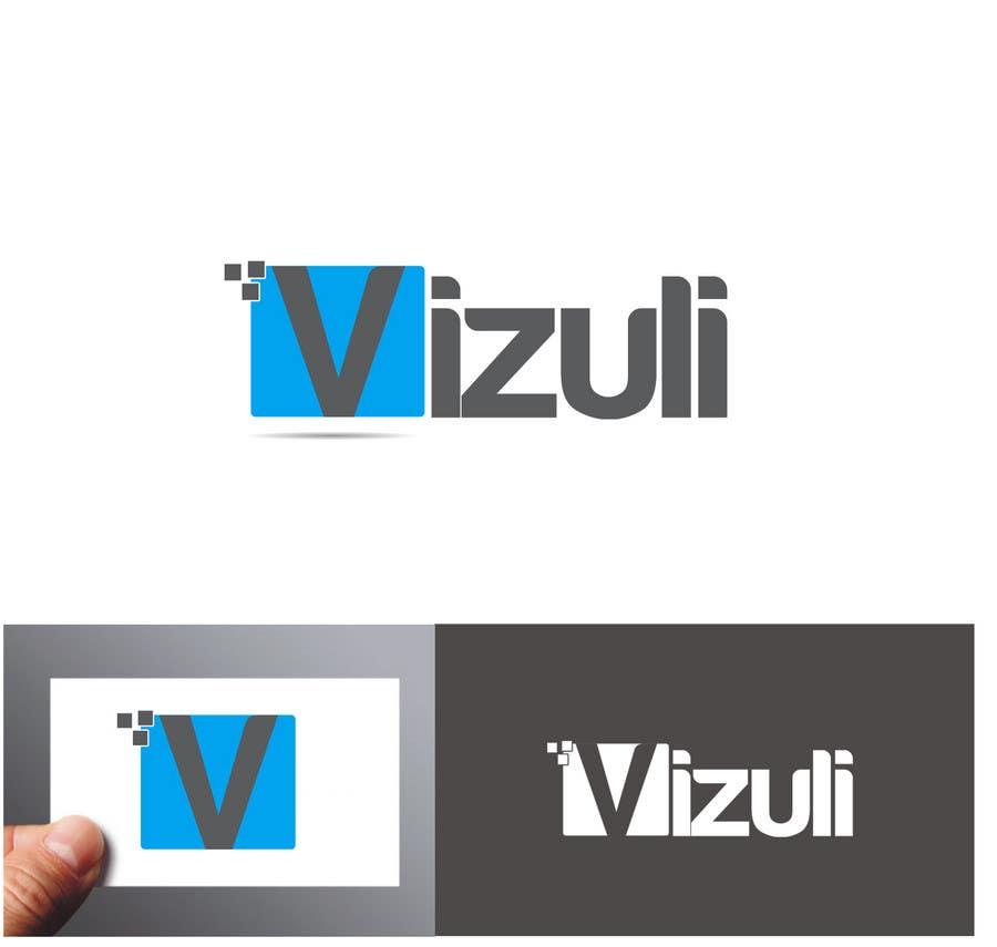 """Intrarea #206 pentru concursul """"Logo Design for Vizuli"""""""