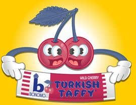 #29 para Illustration Design for Bonomo Turkish Taffy, LLC por LOOKCreativeUK