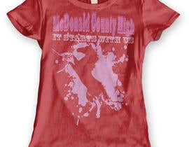 dennisjohn501nr tarafından Mustangs spiritwear shirt için no 15