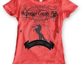 dennisjohn501nr tarafından Mustangs spiritwear shirt için no 16