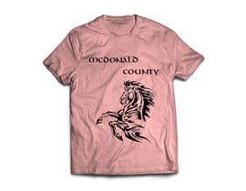 peaches2000 tarafından Mustangs spiritwear shirt için no 2