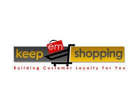 #74 for Logo Design for Keep em Shopping af UnivDesigners