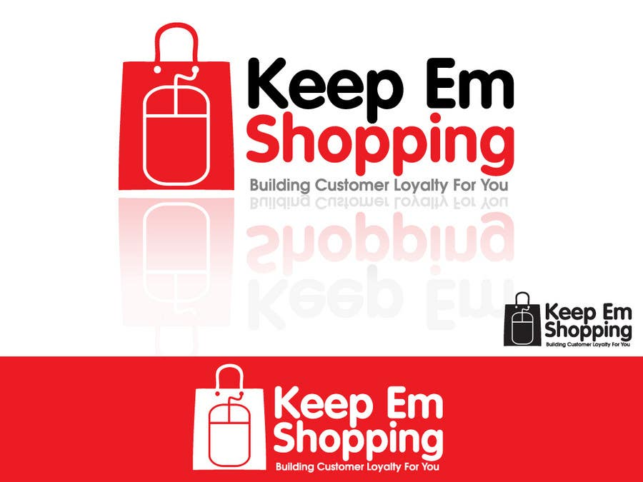 #121 for Logo Design for Keep em Shopping by winarto2012