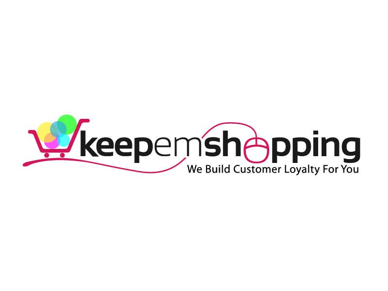 #185 for Logo Design for Keep em Shopping by ipanfreelance