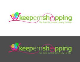 #205 for Logo Design for Keep em Shopping by ipanfreelance