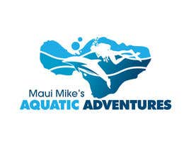 #98 para Logo Design for Maui Mikes Aquatic Adventures por marumaruya2010