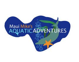 #102 para Logo Design for Maui Mikes Aquatic Adventures por JennyJazzy