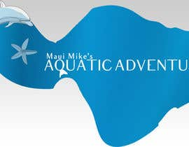 #112 para Logo Design for Maui Mikes Aquatic Adventures por deemiju