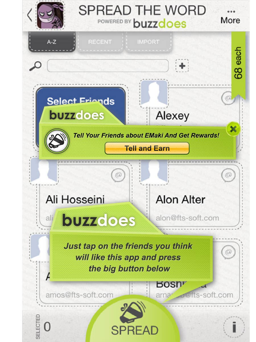 #43 for Graphic Design for Simple 2 pop ups inside a mobile app by dipcore