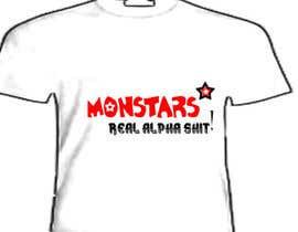 #10 cho Design a T-Shirt for: Monstar Apparel bởi fatimayounus