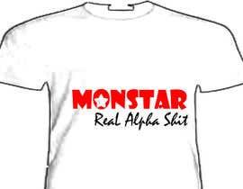 #12 cho Design a T-Shirt for: Monstar Apparel bởi fatimayounus