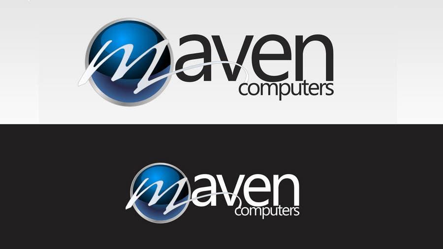 Kilpailutyö #                                        295                                      kilpailussa                                         Logo Design for Maven Computers
