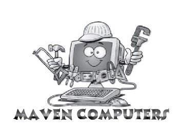Kilpailutyö #                                        122                                      kilpailussa                                         Logo Design for Maven Computers