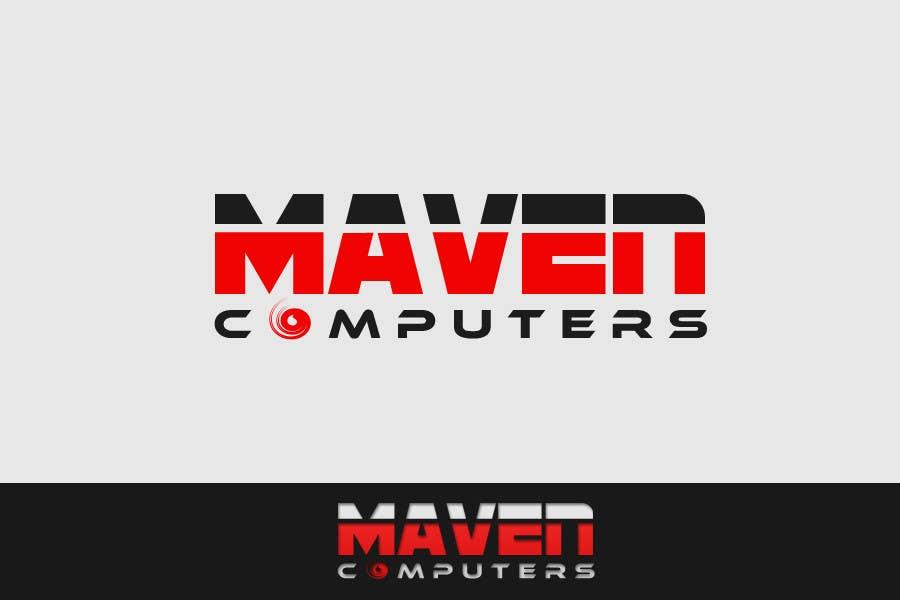 Kilpailutyö #                                        53                                      kilpailussa                                         Logo Design for Maven Computers