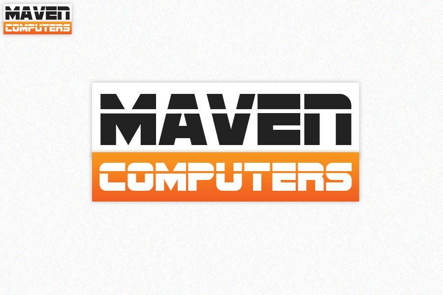 Kilpailutyö #                                        177                                      kilpailussa                                         Logo Design for Maven Computers