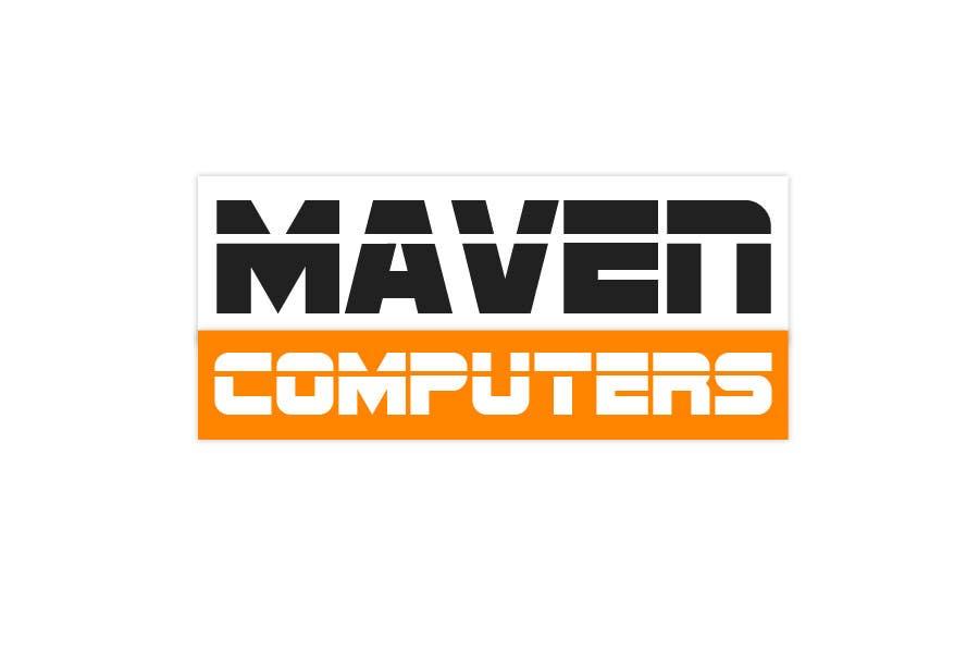 Kilpailutyö #                                        179                                      kilpailussa                                         Logo Design for Maven Computers