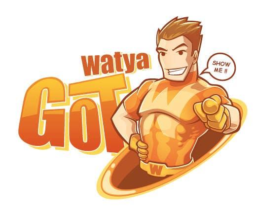 Konkurrenceindlæg #24 for WATYAGOT !  Iconic Character