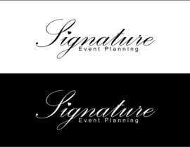 nº 13 pour Design a Very Professional logo ( I Will Award Fast) Signature Event Planning par Ipankey