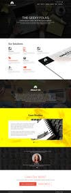 Image of                             Design home page mockup