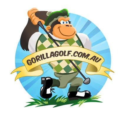 Bài tham dự cuộc thi #14 cho Logo Design for www.gorillagolf.com.au
