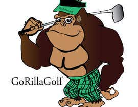 #37 para Logo Design for www.gorillagolf.com.au por icecad11
