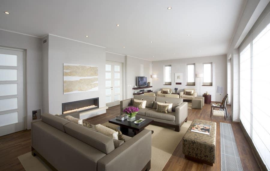 Inscrição nº                                         31                                      do Concurso para                                         Transform a bad hand drawing into a quality graphic-Two Living Rooms (2 styles:Log Cabin and Modern)