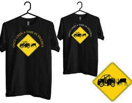 #9 untuk Design a T-Shirt for Once upon a time in Sweden oleh DOPEBOY30