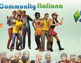 veehnakata tarafından Design a Logo and background for The Sims 4 thesims4.it için no 17