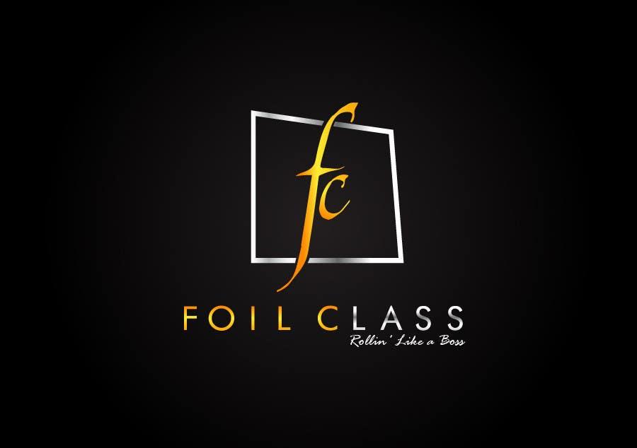 Конкурсная заявка №331 для Logo Design for FoilClass - High-end/luxury