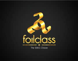 #279 untuk Logo Design for FoilClass - High-end/luxury oleh coldxstudio