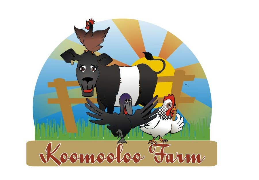 Конкурсная заявка №11 для Logo Design for Koomooloo farm