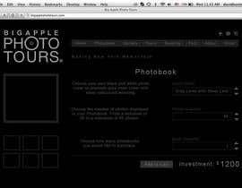 nº 21 pour Design a Webpage Mockup with Photoshop CS6. par ImageWorkerz