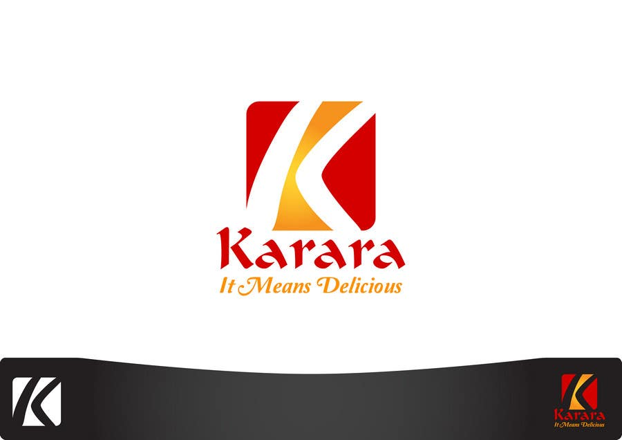 Inscrição nº 436 do Concurso para Logo Design for KARARA The Indian Takeout