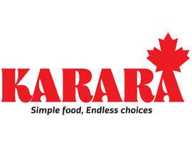 nº 157 pour Logo Design for KARARA The Indian Takeout par KelvinKumar