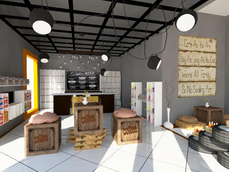 ceiling interior design for shop