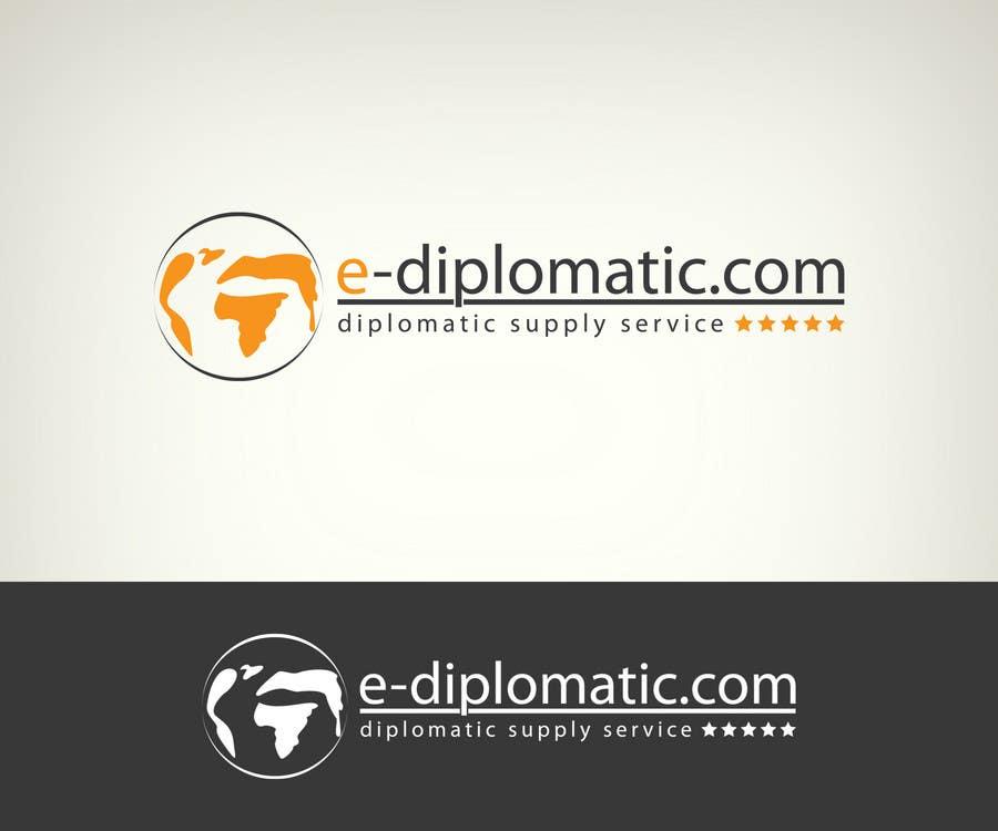 Kilpailutyö #13 kilpailussa Logo Design for online duty free diplomatic shop