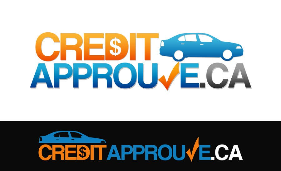 #127 for Logo Design for Credit approuve .ca by Jevangood