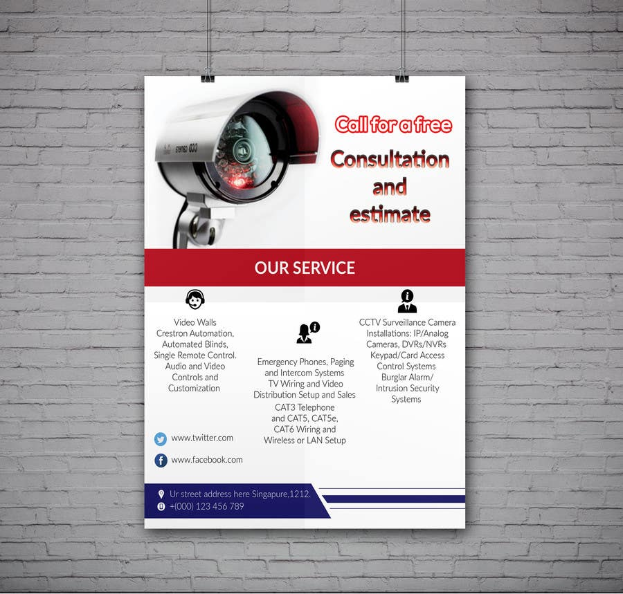 entry 3 by hrhasan36 for design a one page flyer make