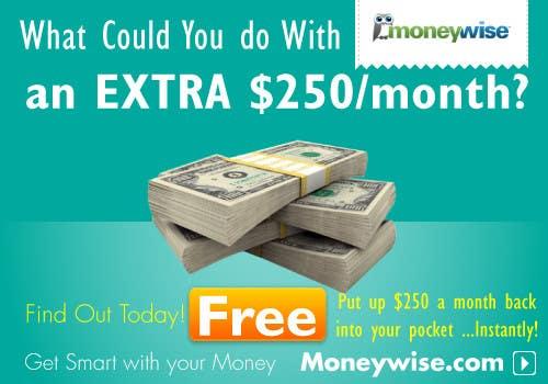 Inscrição nº                                         67                                      do Concurso para                                         Banner Ad Design for Moneywise.com