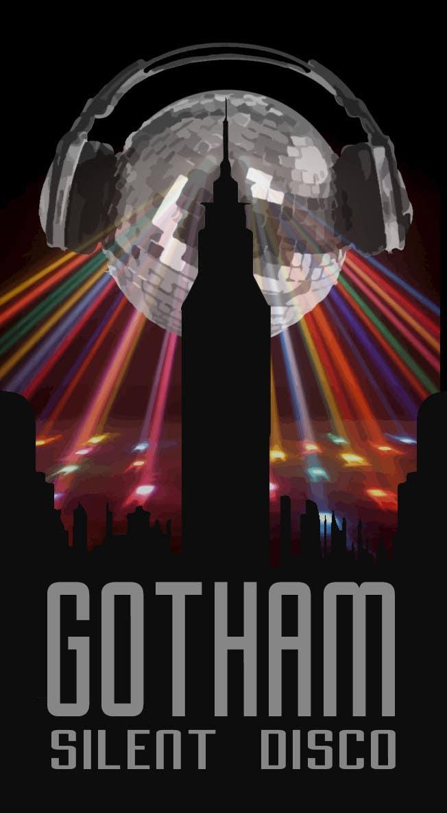 Bài tham dự cuộc thi #                                        13                                      cho                                         Design a Logo for Gotham Silent Disco