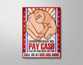 #4 untuk Design a Banner ad for sourcing materials for a California licensed dispensary oleh elgu