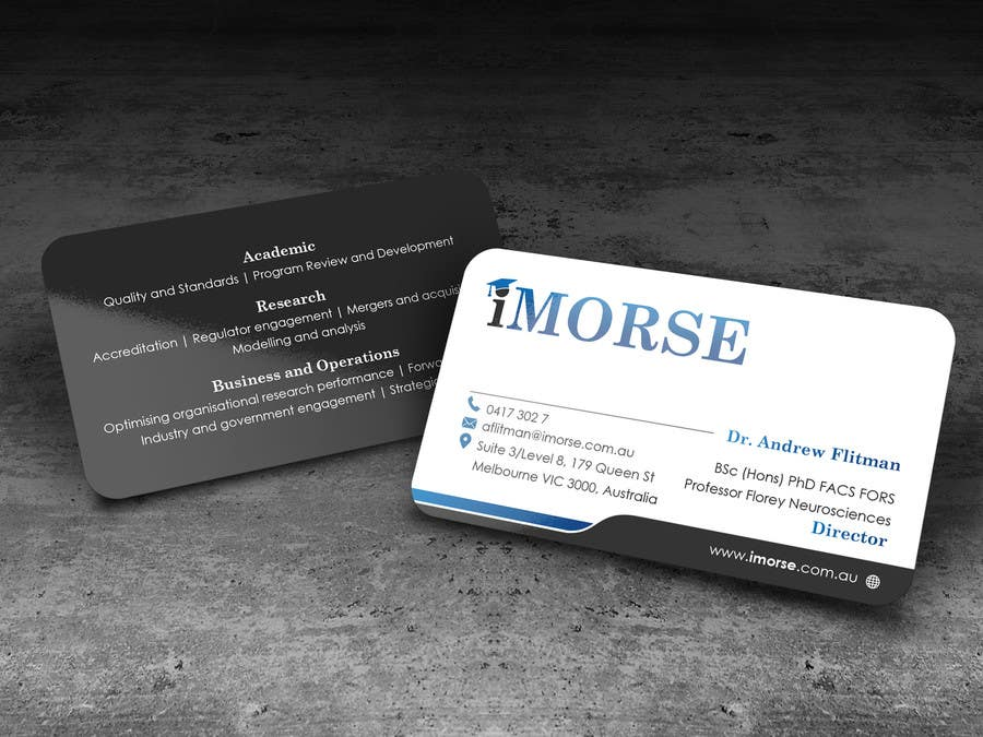 Entry #21 by angelacini for Design some Business Cards   Freelancer