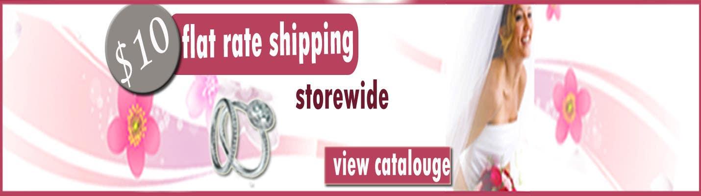 Конкурсная заявка №82 для Banner Ad Design for Dream Wedding Store