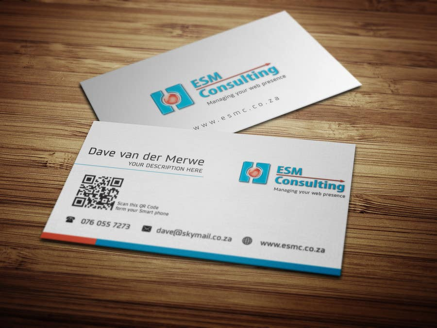 Bài tham dự cuộc thi #                                        19                                      cho                                         Design Business Cards for ESM Consulting